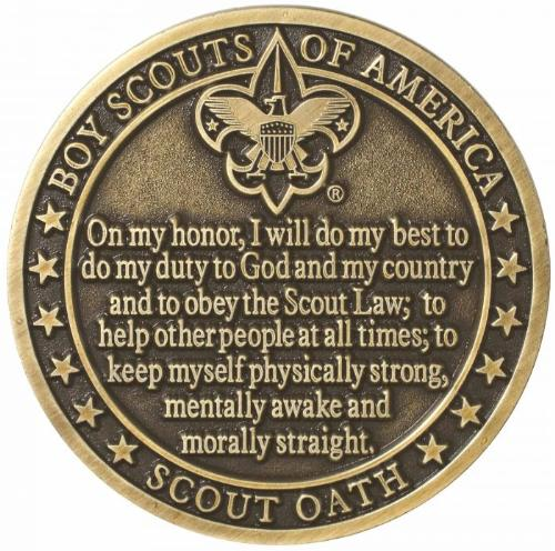 Image of Scout Oat Coin FRONT